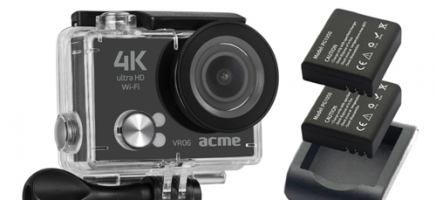 Acme VR06 Ultra HD (4k) action camera with Wi-Fi