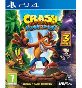 CRASH BANDICOOT N SAVE TRILOGY
